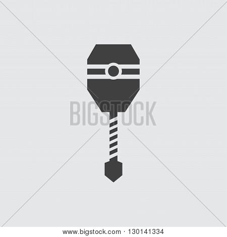 Drill icon illustration isolated vector sign symbol