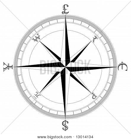 Currency Compass : Bigstock