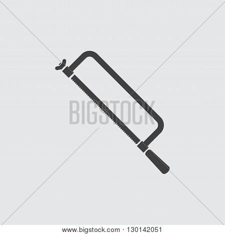 Hacksaw icon illustration isolated vector sign symbol