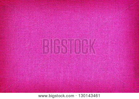 Purple linen fabric texture for the background.