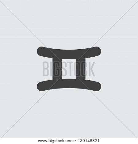 Gemini icon illustration isolated vector sign symbol