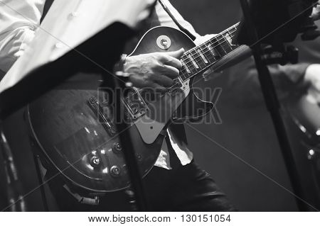 Rock And Roll Music Theme, Guitar Players