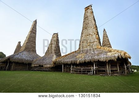 Traditional House Of Sumba Tribe