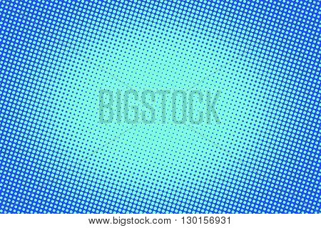 retro comic blue background raster gradient halftone pop art retro style