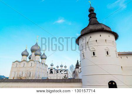 Rostov Veliky, Russia- View of the Kremlin