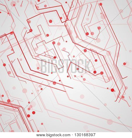Circuit board background, technology illustration, art concept
