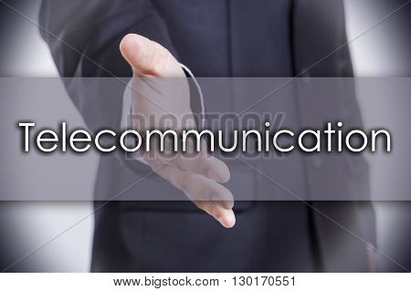 Telecommunication - Business Concept With Text