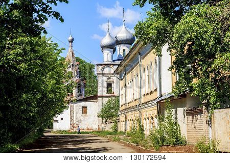 Vologda, Russia - May 27: This is the church of St. John Chrysostom was built in the 16th century in the district of Zarechny May 27, 2013 in Vologda, Russia.