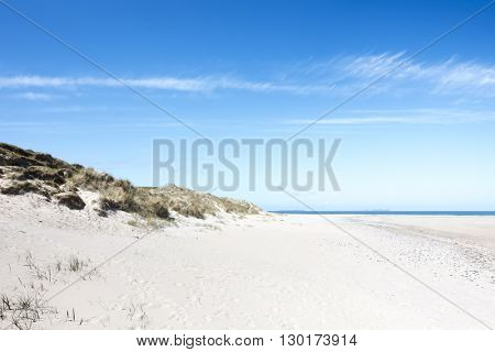 An image of a beautiful sand beach at Donegal Ireland