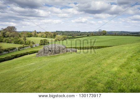 An image of a scenery near Newgrange Ireland