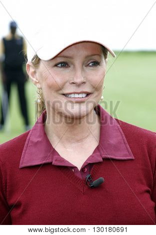 Cheryl Ladd at the 9th Annual Michael Douglas & Friends Celebrity Golf Tournament held at the Trump National Golf Club in Rancho Palos Verdes, USA on April 29, 2007.