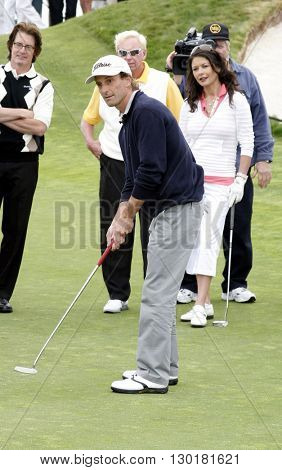 Kenny G at the Ninth Annual Michael Douglas & Friends Celebrity Golf Tournament held at the Trump National Golf Club in Rancho Palos Verdes, USA on April 29, 2007.
