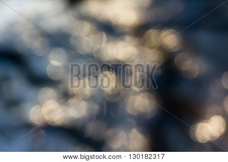 Dreamy Abstract Sparkle Shining Bokeh Light Crystalline Nature Background