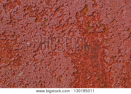chipped paint on iron surface, great background or texture for your project