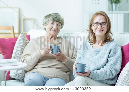 Drinking Tea Together