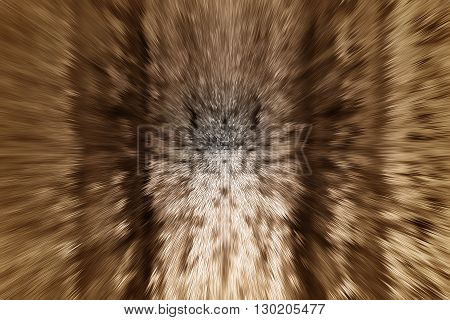 Golden Sepia Point Shape And Zoom To Center Abstract Background