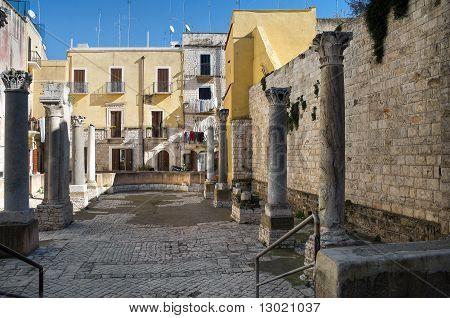 St.Maria del Buon Consiglio Square. Bari. Apulia.