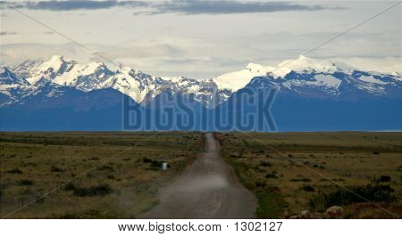 Dirt Road To Perito Moreno