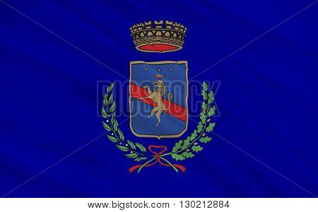 Flag of Potenza is a city and comune in the Southern Italian region of Basilicata. It is the capital of the province of Potenza and the Basilicata region.
