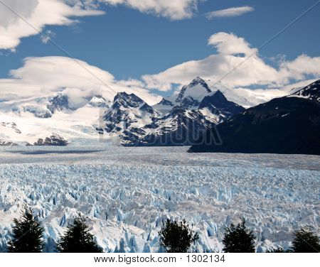 Perito Moreno, In Patagonia, Province Of Santa Cruz, Argentina
