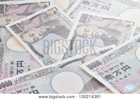 Banknotes Of The Japanese Yen- 10,000 Yen