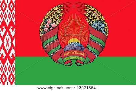 Flag of Belarus officially the Republic of Belarus is a landlocked country in Eastern Europe. Its capital is Minsk