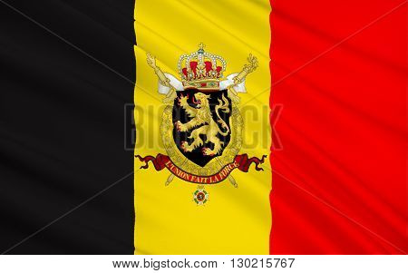 Flag of Belgium - The colors were taken from the coat of arms of the Duchy of Brabant and the vertical design may be based on the flag of France. Adopted 23rd January 1831.