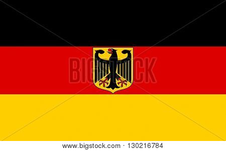 Flag of Germany officially the Federal Republic of Germany or FRG is a federal parliamentary republic in West-Central Europe