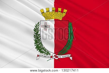 Flag of Malta officially known as the Republic of Malta is a Southern European island country consisting of an archipelago in the Mediterranean Sea