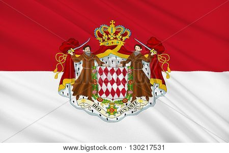 The national flag of the Principality of Monaco has been the heraldic colors of the House of Grimaldi since at least 1339. The present design was adopted on April 4 1881 under Prince Charles III.