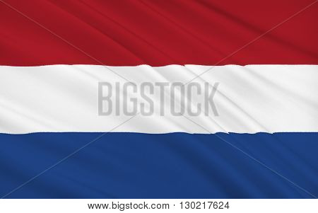 Flag of the Netherlands (Holland) - Variants of the flag have been in use since 1572 and in 1937 the flag was officially formalized as the national flag of the Kingdom of the Netherlands.