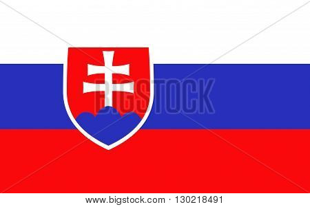 Flag of Slovakia officially the Slovak Republic is a landlocked country in Central Europe