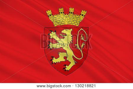 Flag of Valletta is the capital city of Malta in Maltese