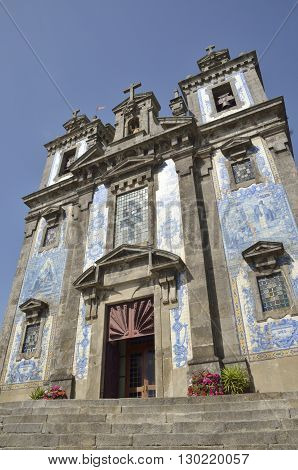 Church of Saint Ildefonso in Porto Portugal