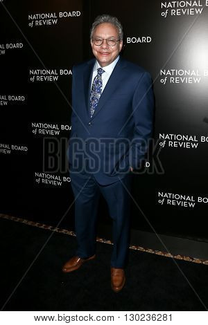 NEW YORK-JAN 5: Comedian Lewis Black attends the 2015 National Board of Review Gala at Cipriani 42nd Street on January 5, 2016 in New York City.