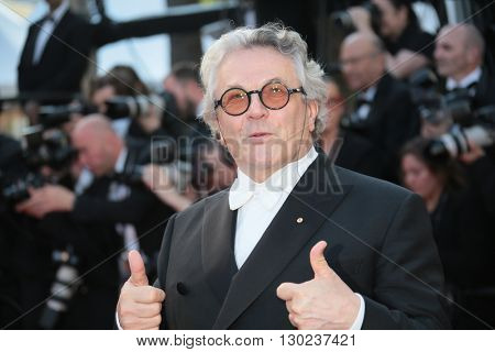 George Miller attends a screening of 'Julieta' at the annual 69th Cannes Film Festival at Palais des Festivals on May 17, 2016 in Cannes, France.