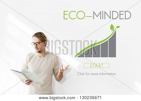 Eco-Minded Business Strategy Consumption Concept
