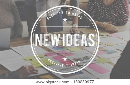 New Business New Ideas Launch Concept