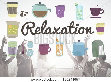 Relaxation Calm Chill Freedom Peace Rest Serenity Concept