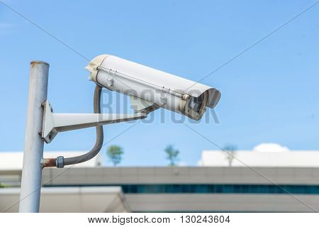Security CCTV camera and urban video electronic device.