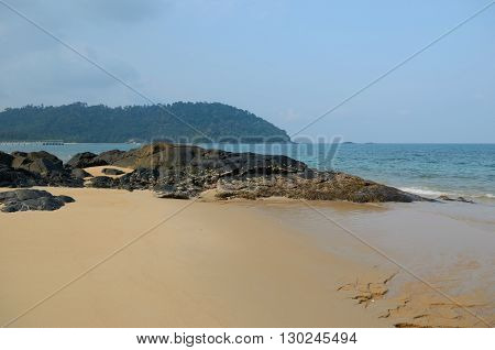 Juara - one of the quietest and most beautiful beaches in Tioman Island Malaysia