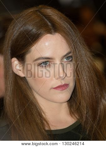 Riley Keough  attends the 'Personal Shopper' premiere at the 69th Festival de Cannes. May 17, 2016  Cannes, France