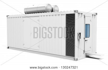 3D Mobile Power Station Container