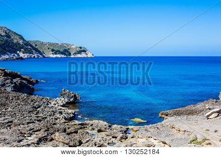 Cala Agulla, Majorca, Spain.