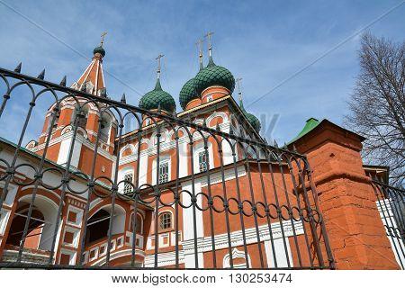 Christian church of the Archangel Michael. Yaroslavl Russia.