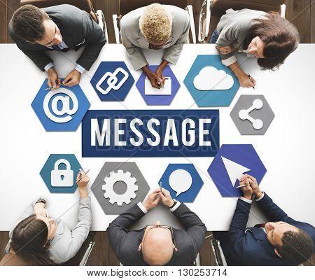 Business Brainstorm Message Concept