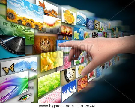 Hand on Media Technology Photo Gallery