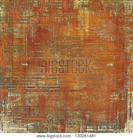 Distressed texture with ragged grunge overlay. Wrinkled background or backdrop with different color patterns: yellow (beige); brown; gray; red (orange)