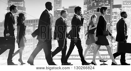 Business City Life Corporate Colleagues Concept