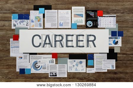 Career Employment Hiring Job Occupation Work Concept